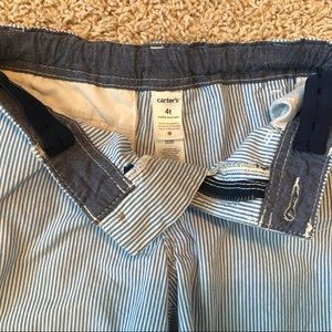 Carter's Bottoms - Two pairs of boys shorts, size 4T